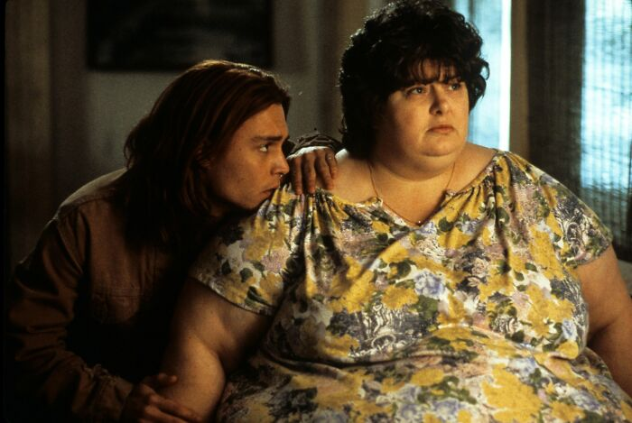 Darlene Cates As Bonnie Grape In 'What's Eating Gilbert Grape' (1993)