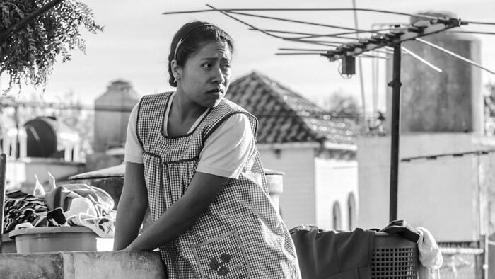 Yalitza Aparicio As Cleodegaria Gutiérrez In 'Roma' (2018)