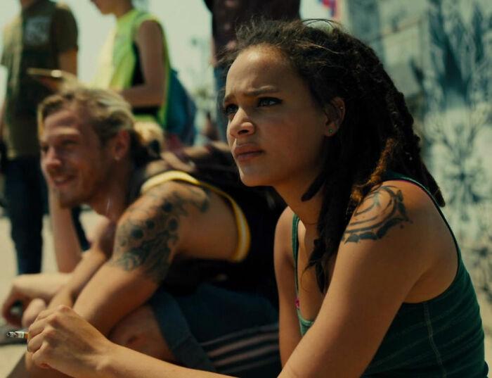 Sasha Lane As Star In 'American Honey' (2016)