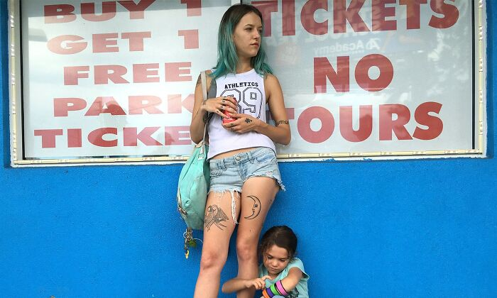 Bria Vinaite As Halley In 'The Florida Project' (2017)