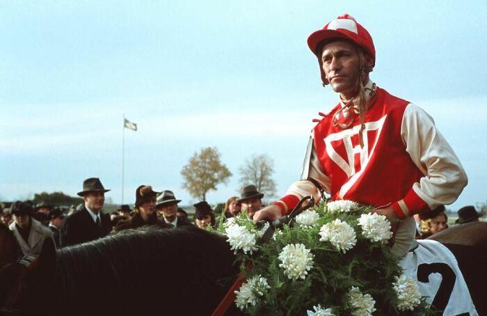 Gary Stevens As Jockey George Woolf In 'Seabiscuit' (2003)