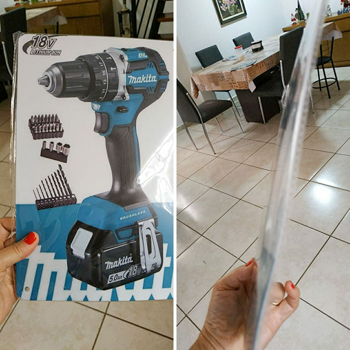 My Dad Bought A Drilling Machine On Wish. This Just Arrived