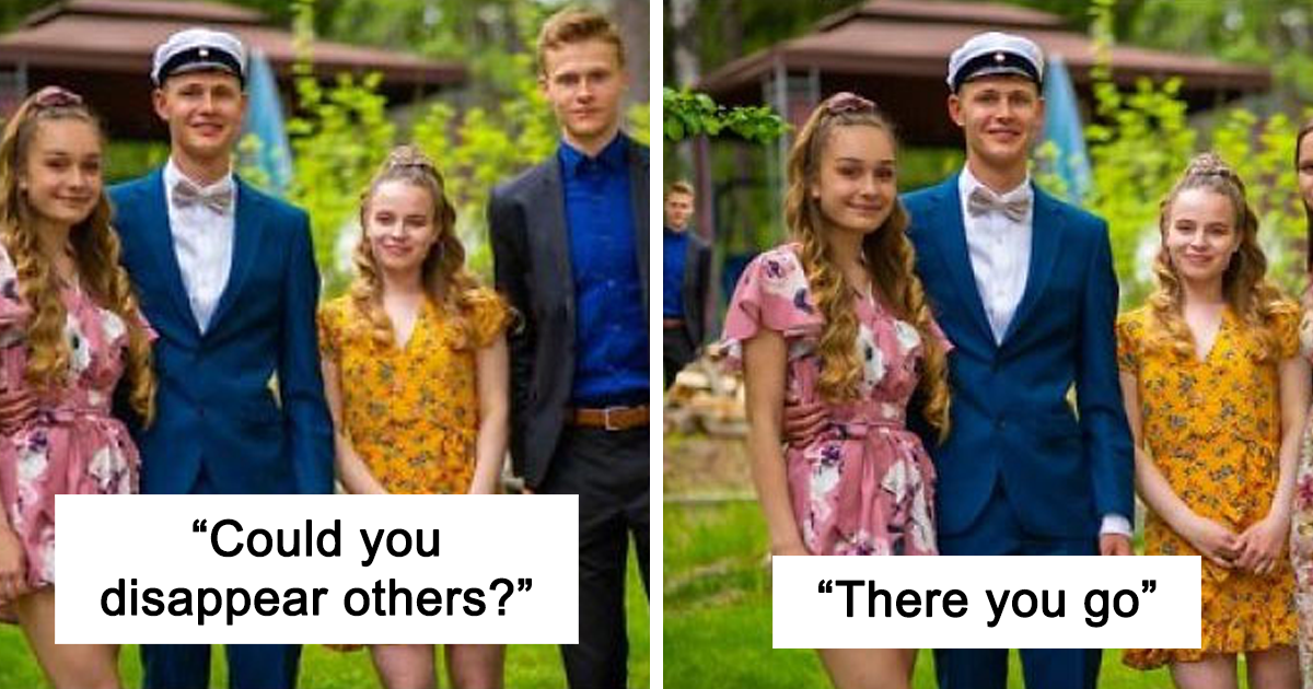 18 Of The Best Recent Photoshops By Master Troll James Fridman Who Takes Photo Requests Too Literally (18 New Pics)