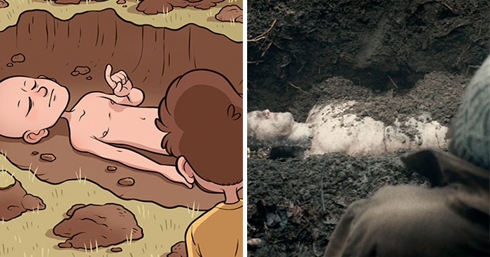 Artist Shows How This Film's Creators Plagiarized His Original Idea And Did Not Even Credit Him