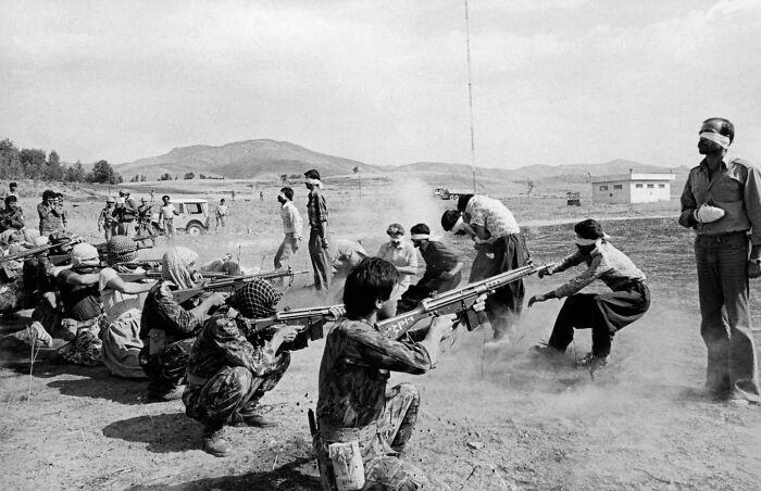 """1980 """"Pelotón de fusilamiento en Irán"""""""