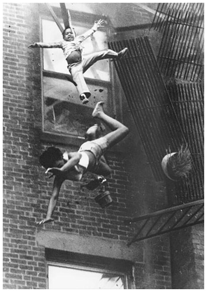"""1976 """"Colapso de la escalera de incendios"""""""