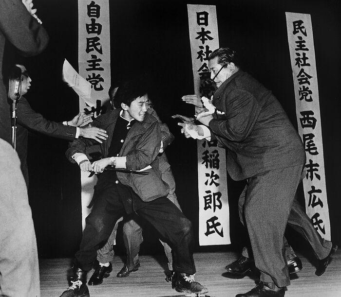 "1961 ""Apuñalamiento en Tokio"""