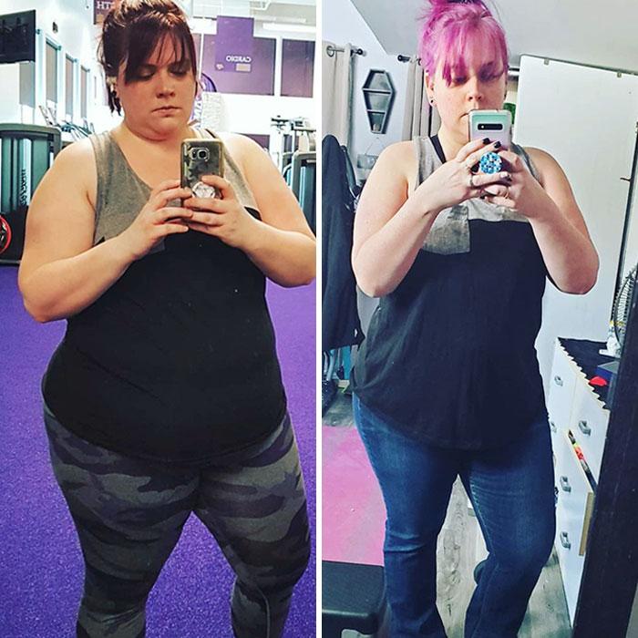 ¿Crees que no has cambiado mucho porque no has perdido mucho peso? Saca una foto antigua y compárala con la misma camiseta de hoy