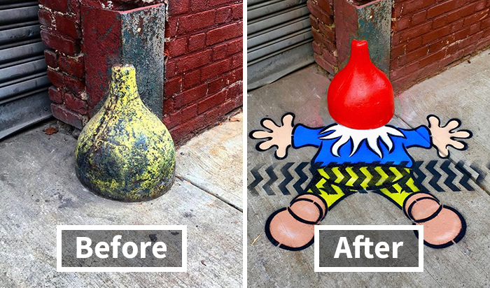 There's A Genius Street Artist Running Loose And Let's Hope Nobody Catches Him
