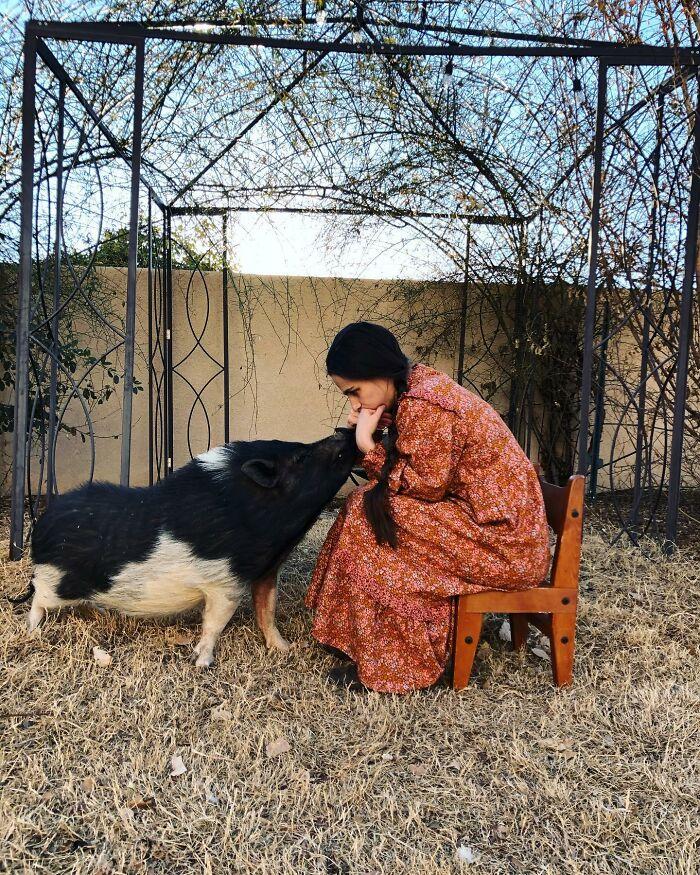 Día de cuarentena 329: Papá dijo que si este invierno se prolonga mucho más tendrá que matar al cerdo