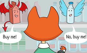 Intento concienciar sobre un estilo de vida sin residuos creando cómics (10 imágenes nuevas)