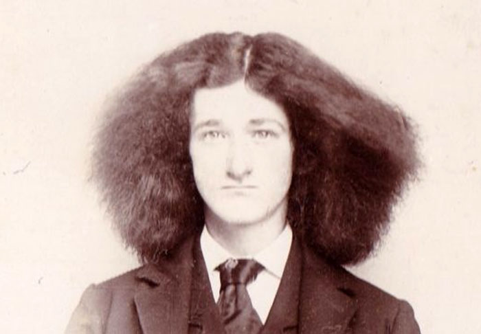 Here's A Vintage Photo Collection Of Strange Men's Hairstyles Throughout The Centuries