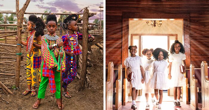 Couple Takes Stunning Photos Of Black Children To Shatter Black Beauty Standards