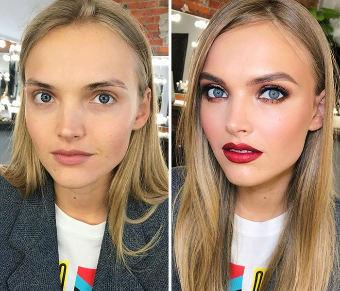 30 Before And After Pics Of Women Who Got Hollywood-Like Transformations From This Makeup Artist