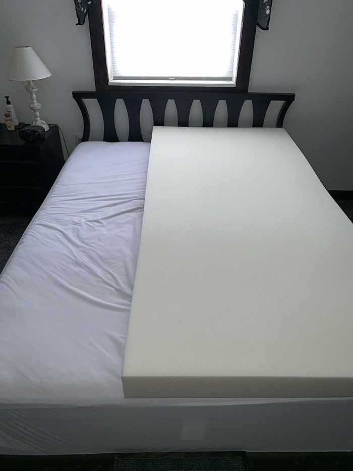 """My Husband Bought Memory Foam For """"His Side Of The Bed"""""""