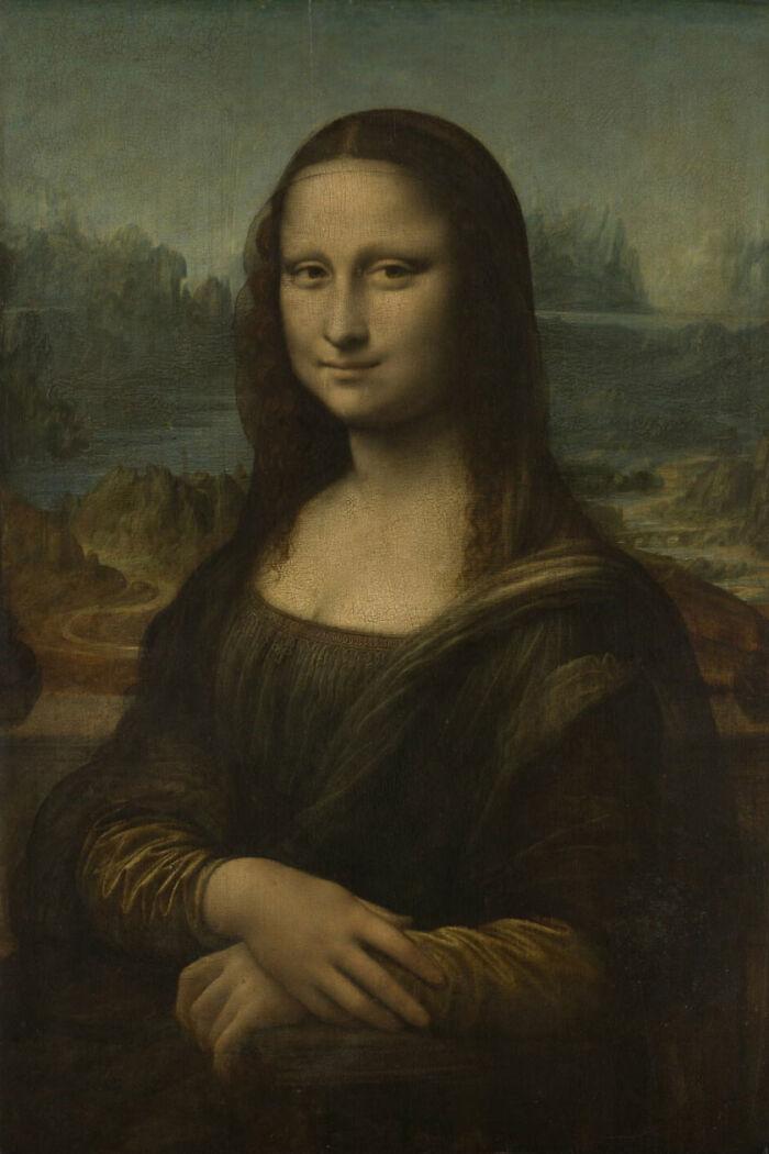 Monna Lisa By Leonardo Da Vinci (1503 - 1518)