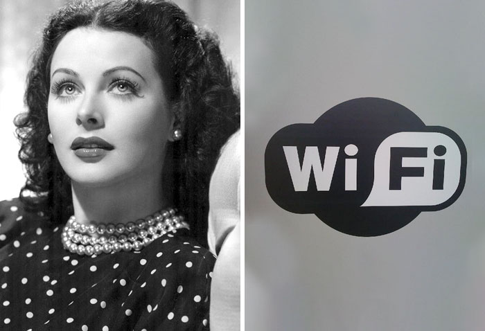 Hedy Lamarr Invented Wireless Transmission