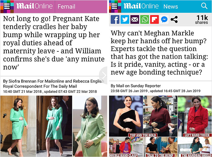 Meghan Said She Knew The Media Was Biased And That There Was A Double Standard For How Things Were Reported About Her And Kate
