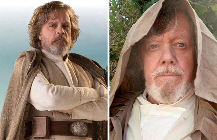 Luke Skywalker (Portrayed By Mark Hamill)