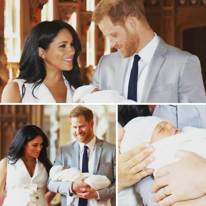 """There Were Allegedly Racist Conversations In The Royal Family About """"How Dark"""" Meghan And Harry's Son's Archie's Skin Might Be"""