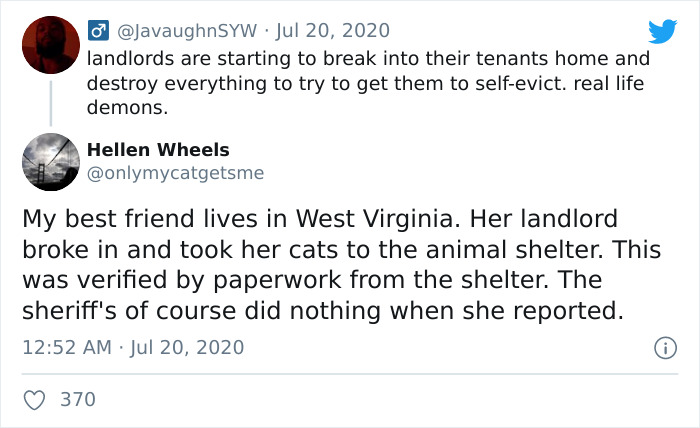When Landlords Can't Legally Evict, They'll Do Whatever They Can To Get You To Self-Evict