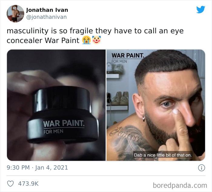 No Bro It's War Paint