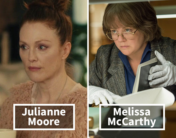 Julianne Moore Was Replaced By Melissa Mccarthy In Can You Ever Forgive Me?