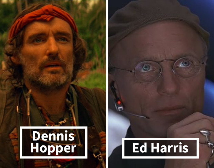 Dennis Hopper Was Replaced By Ed Harris In The Truman Show