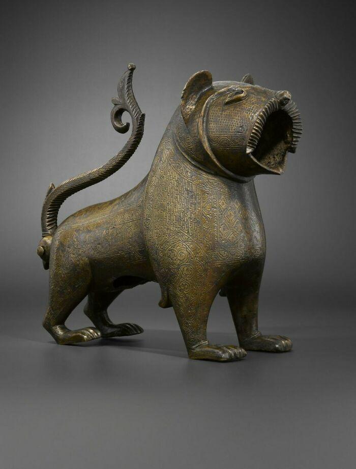 "Lion Known As ""De Monzon""; Fountain Mouth, 12th Century; 13th Century, Spain"