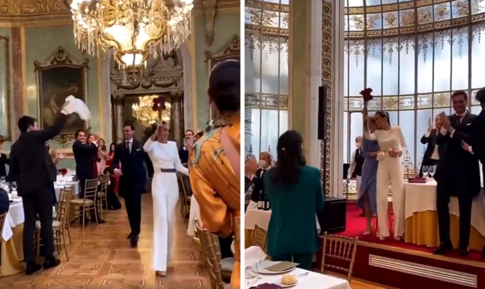 Wedding In Madrid (Spain) Last Week, A City That Most Definitely Do Not Have The Virus Under Control