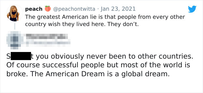"""""""Most Of The World Is Broke. The American Dream Is A Global Dream."""""""