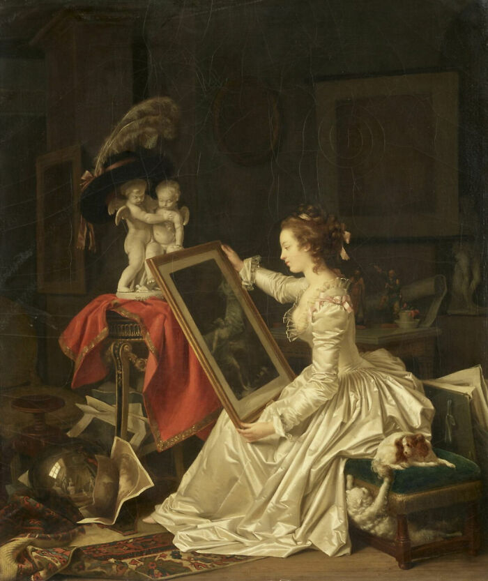 The Interesting Student By Gérard, Marguerite (Around 1786)