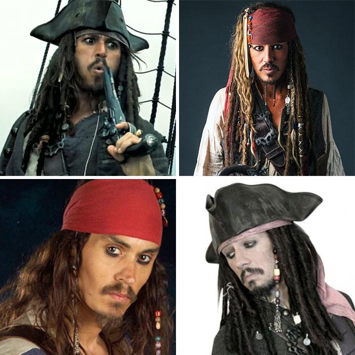 Jack Sparrow (Portrayed By Johnny Depp)