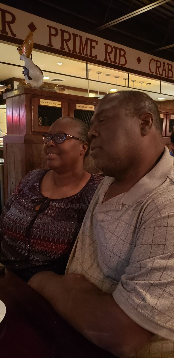 My Parents On Their Fortieth Anniversary.
