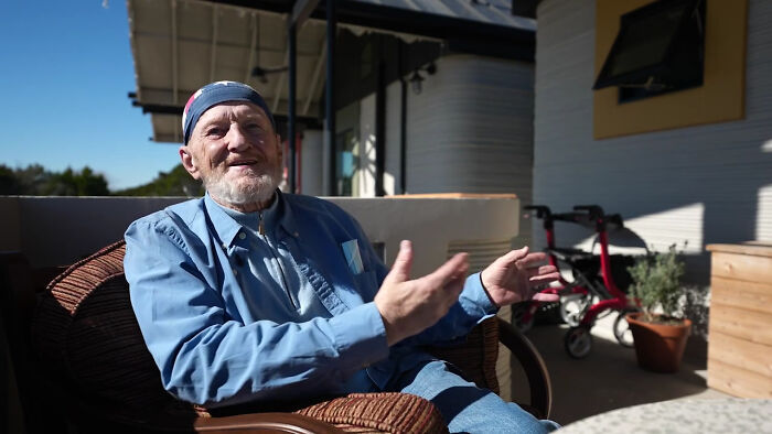 Homeless Man Gets To Live In A 3D-Printed Tiny Home