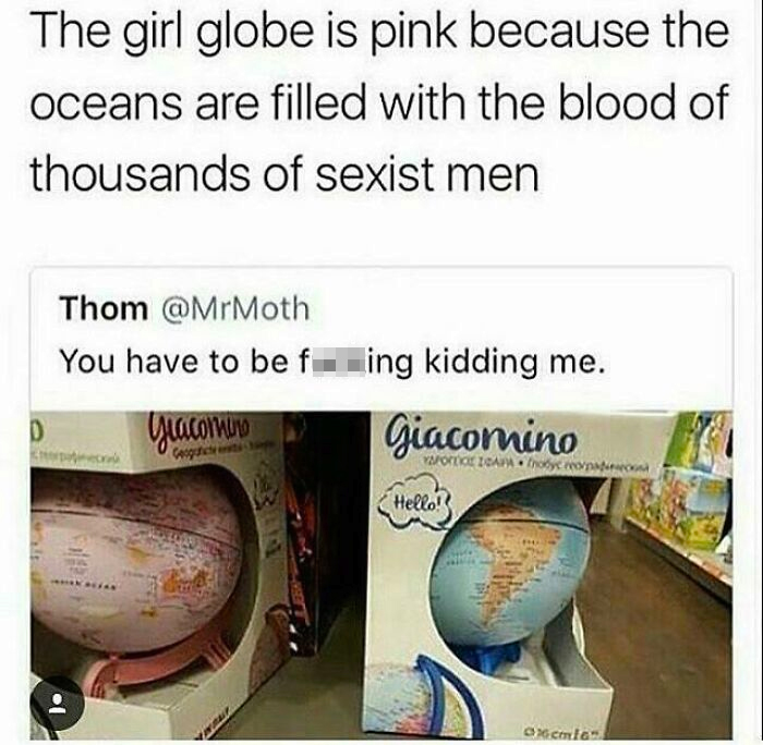 Girls Live On A Different Planet