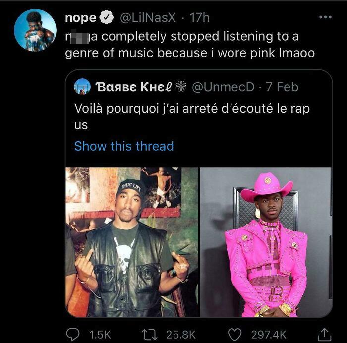 Pink Bad For Rap