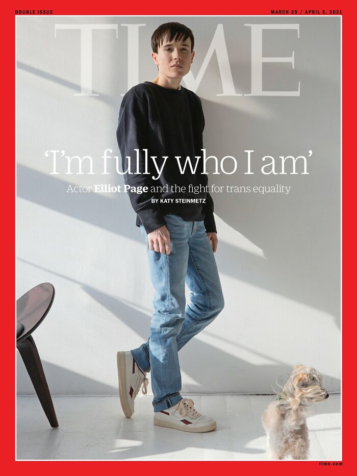Elliot Page Makes Headlines For His First Interview Since He Came Out As Transgender