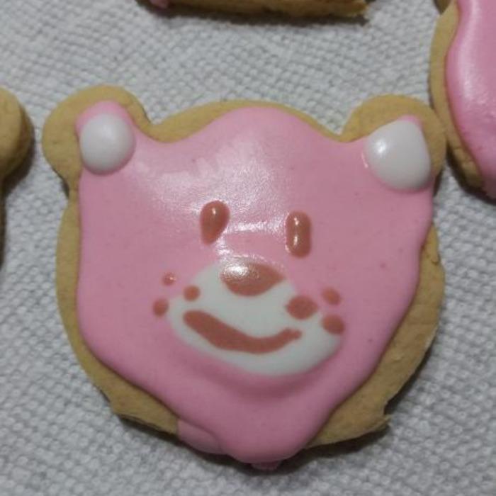 Pink Bear Cookies!