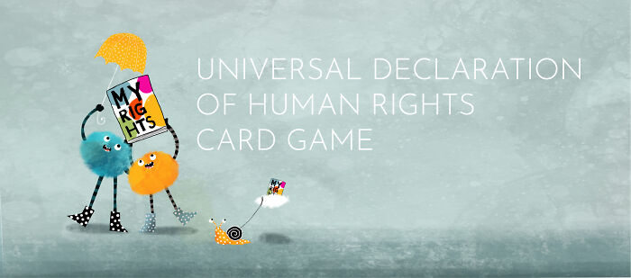Illustrator Designed Children's Card Game To Teach Them Human Rights (30 Pics)