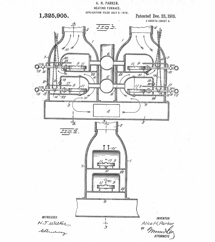 Alice H. Parker Invented The Central Heating System