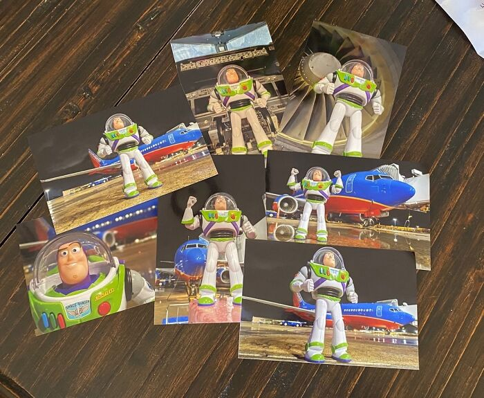 Airline Returns 2-Year-Old's Lost Buzz Lightyear With Photos And Letter From His Special Mission 13