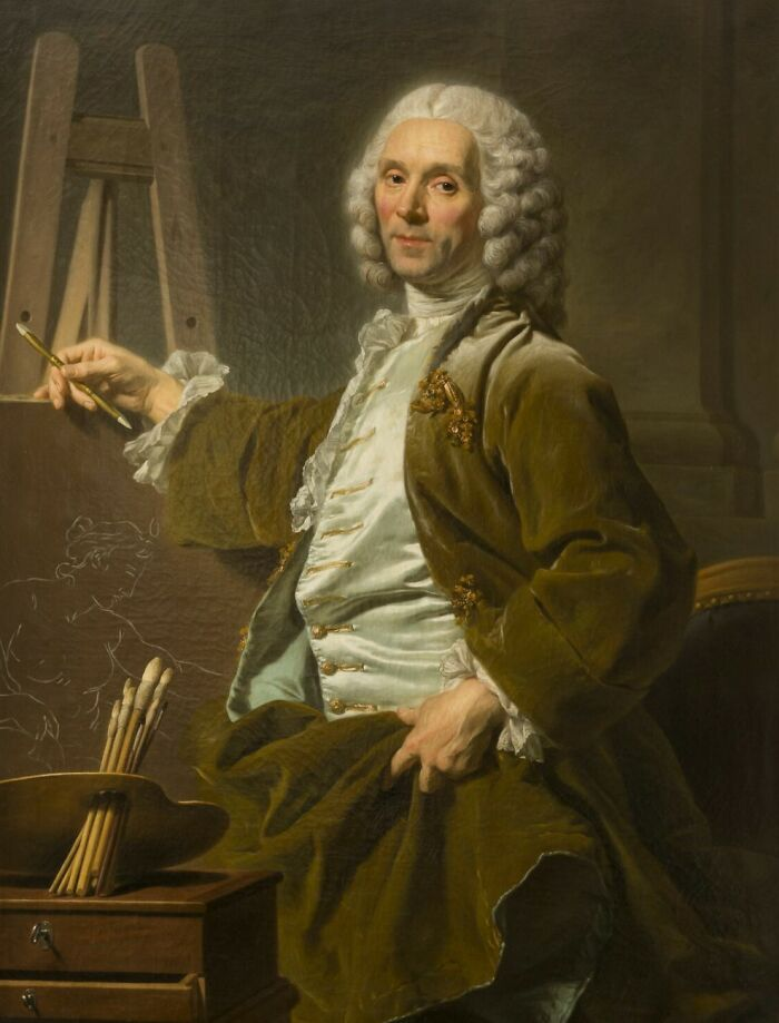 Hyacinthe Collin De Vermont, Painter By Roslin, Alexandre (1753)