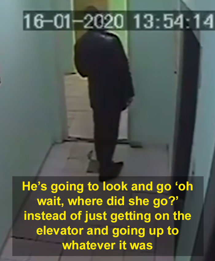 9-Year-Old Girl Notices She Is Being Followed, Escapes The Stalker By Getting Out Of The Building Without Him Noticing