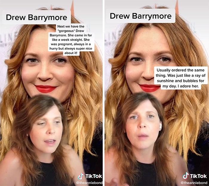 Drew Barrymore, 1000/10