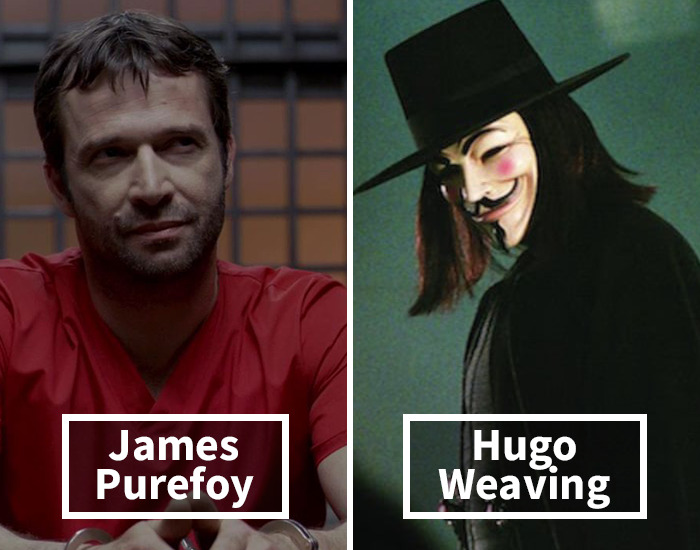 James Purefoy Was Replaced By Hugo Weaving In V For Vendetta