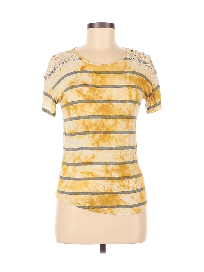 Oh Great, A Shirt That Makes It Look Like You Got In A Fight With A Bottle Of Mustard And Lost