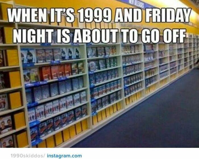 Fridays At Blockbuster