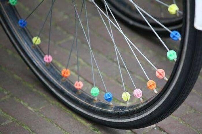 Putting Bike Beads On Your Bike