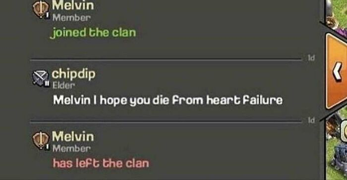 Poor Melvin